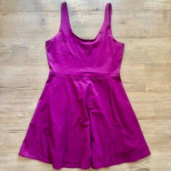 Victoria's Secret PINK Plum/Purple Skater Dress